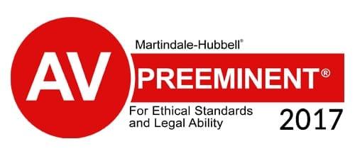 Personal Injury Attorney AV Rating