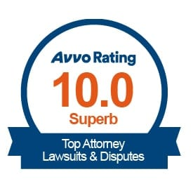 Highest Attorney Rating from Avvo